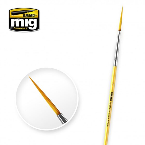 1 SYNTHETIC LINER BRUSH