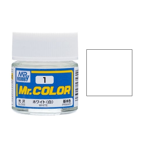 C-001 Mr. Color (10 ml) White