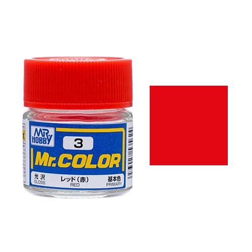 C-003 Mr. Mr. Color (10 ml) Red