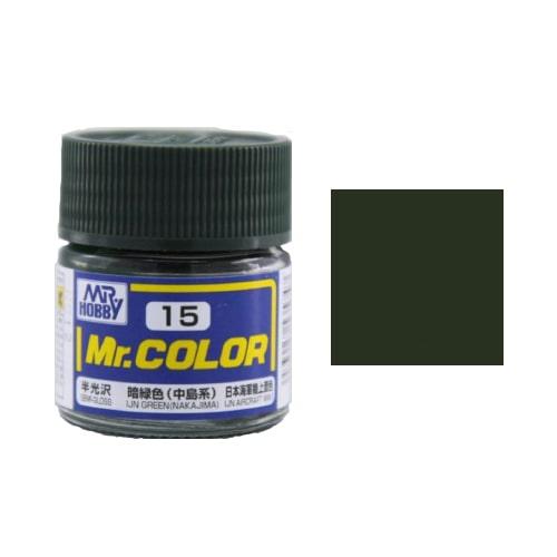 C-015 Mr. Color (10 ml) IJN Green (Nakajima)