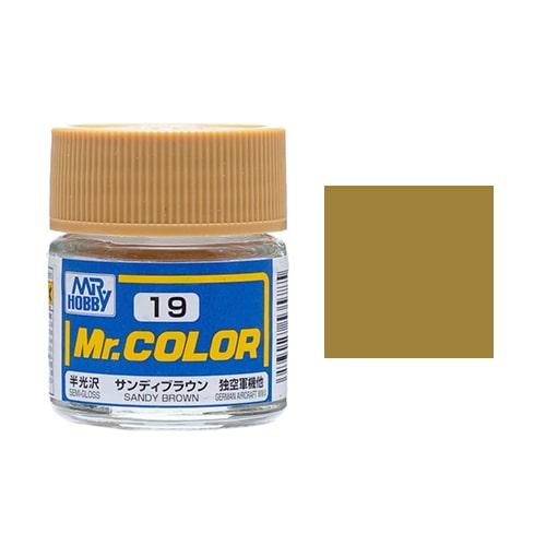 C-019 Mr. Color (10 ml) Sandy Brown