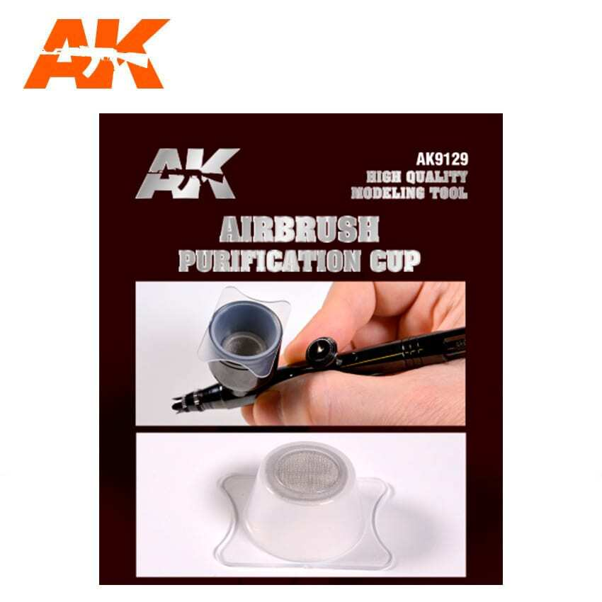 AIRBRUSH PURIFICATION CUP