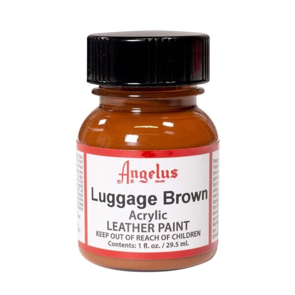 Angelus Leather Paint Luggage Brown 29,5ml